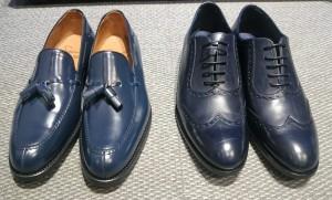 zapatos marinos