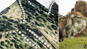 Vestido Plisado leopardo Highly Preppy. Ángela Serrano